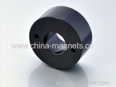 Black Epoxy plating Permanent Magnets for sale