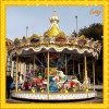 Theme park amusement rides carousel horse