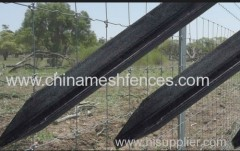 Galvanized and BitumenY Type Farm Post Y Fence Pole