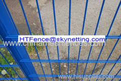 656 pvc coated double wire fence double bar fence twin wire fence
