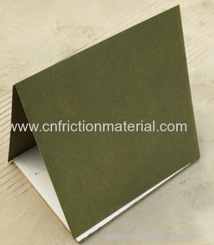 Fsc Certified Paper Based Composite Material: Carbon Fiber Reinforced Paper Based Friction Material