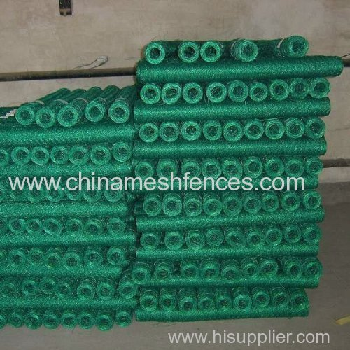 PVC coated hexagonal wire netting PVC coated chicken wire mesh