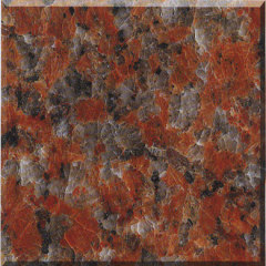 granite Maple Leaf Red g562