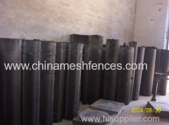 mesh 10 to 80 black wire mesh anping supplier