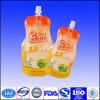 plastic beverage spout pouch