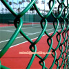 BWG8 PVC wire chain link fencing 60*60mm mesh size