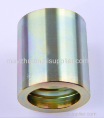 Hydraulic quick coupling for 2SN hose