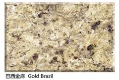 Gold Brazil Granite Tiles