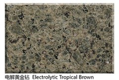 Electrolytic Tropical Brown granite tiles