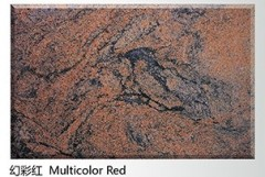 Natural Imported Multicolor Red Granite