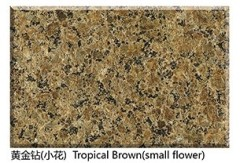 tropic brown granite small flower