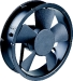 AC/DC axial fans motor