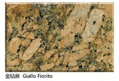 Imported Giallo Fiorito golden granite