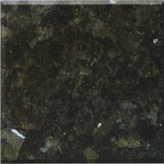 Polished natural Emerald Pearl granite