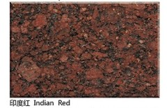 polished Indian Red granite