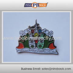 2014 Promotion gift hot sale soft enamel lapel pin/badge/pinbadge