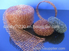 knitted copper wire for clean ball