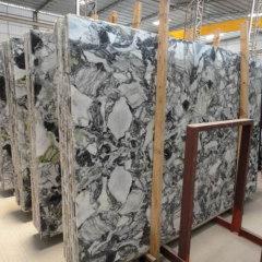 Polished large marble slab YL-06