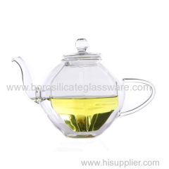 Double Wall Glass Teapots with high quality