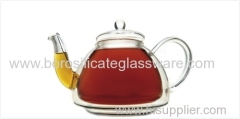 hand blown double walled Glass teapots