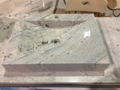 Rectangular Granite Wash Basin