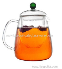Double Walled Glass Teapots with high quality