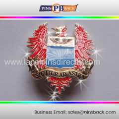 Trading military enamel lapel pin