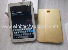 8inch gold color super good tablet pc quad core 3g phone call voice call