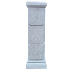 Natural granite pillars and column