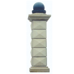 decorative granite pillar stone column