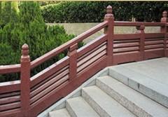 granite modular stair railing