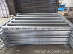 Galvanized 6rails horse panel fence