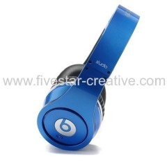 Beats by Dr.Dre Studio Blue High Definition Powered Isolation Headphones