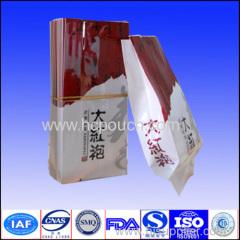 foil side gusset bag