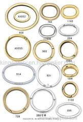 bag ring,spring ring,d ring,o ring,d buckle,square buckle,o-buckle,square ring,rhinestone ring