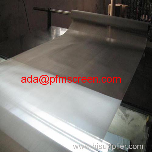 316L 325mesh Stainless Steel Woven Wire Mesh
