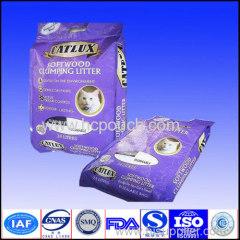 flat bottom packaging pouch