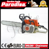 72.2cc Hot Sales Environmental High Quality Garden Tool Gasoline Metal MS381 Chain Saw