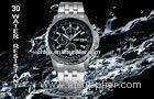 Trendy Analog Quartz Watches , Customized Mens Business Wristwatch