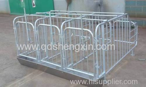 Galvanized Pig Gestation Crate