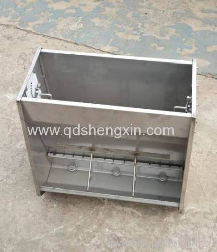 Two-side SS Pig Feeder