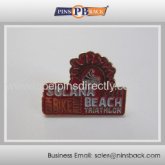 Metal soft enamel badge