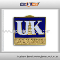 Metal die casting school badge