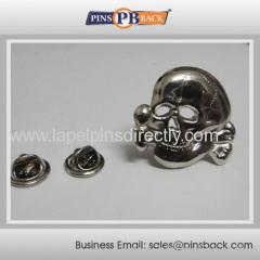 Metal 3d die struck pin badge