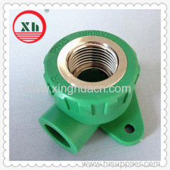 PP-R female elbow with disk DN16X1/2
