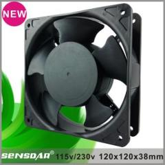 120*120*38mm ac axial flow cooling fan 115v 230v cooler fan ventilador
