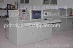 Standard lightning impulse voltage pulse calibration test system devices