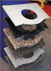 natural granite kitchen countertop
