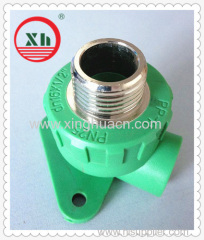 "PP-R male elbow with disk DN16X1/2""M"