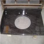 polished standard kitchen countertop